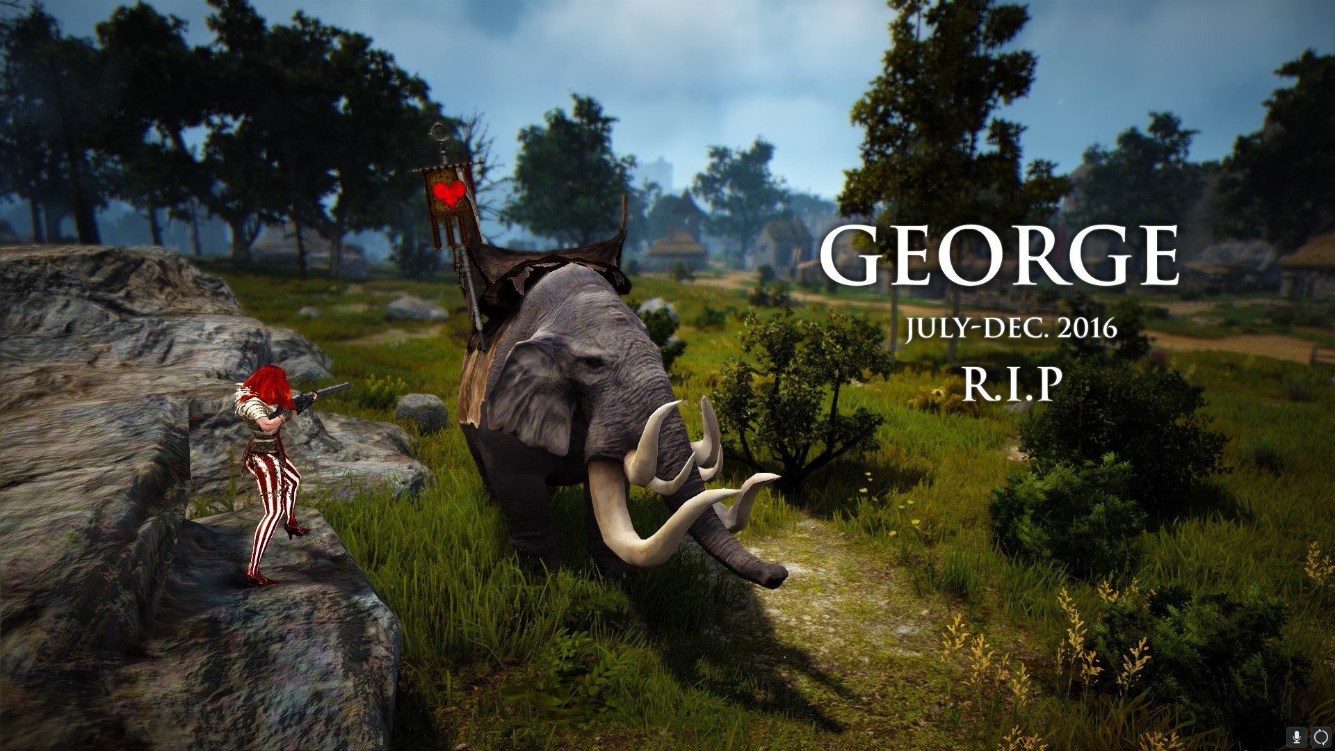 George is dead! Long live George!